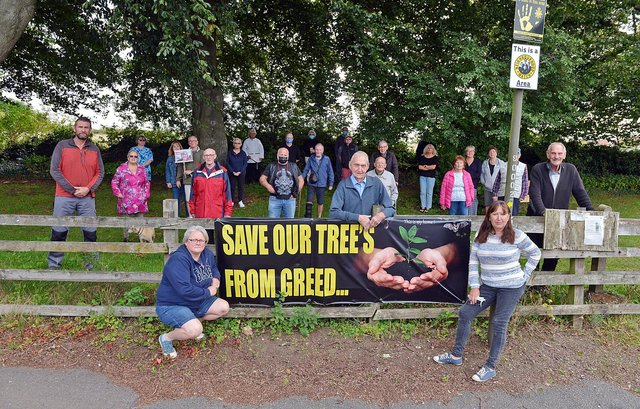 Campaigners in Glapwell say they are 'gutted' by the decision.