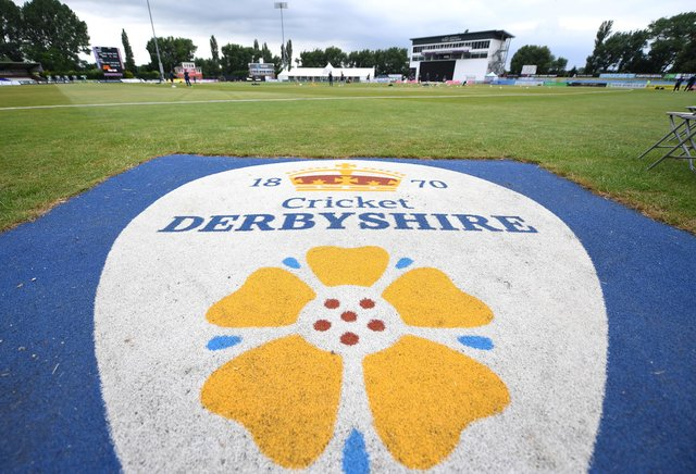 Derbyshire are up against after a bad opening day against Essex. (Photo by Tony Marshall/Getty Images)