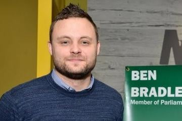 Mansfield MP Ben Bradley.