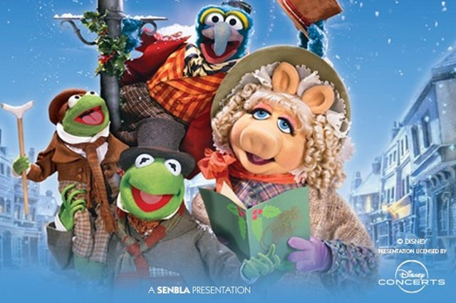 The Muppet Christmas Carol will be screened at Nottingham Royal Concert Hall, accompanied by a live orchestra.