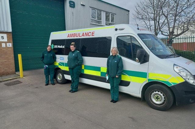 Colleagues from ERS Medical Midlands; Kelly Stoneman, Senior Operations Manager, ERS Medical, Midlands