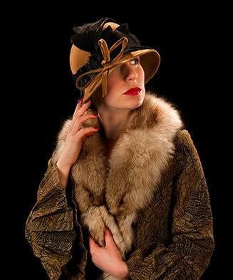 Rebecca Vaughan in Dalloway - being streamed by Mansfield Palace Theatre.