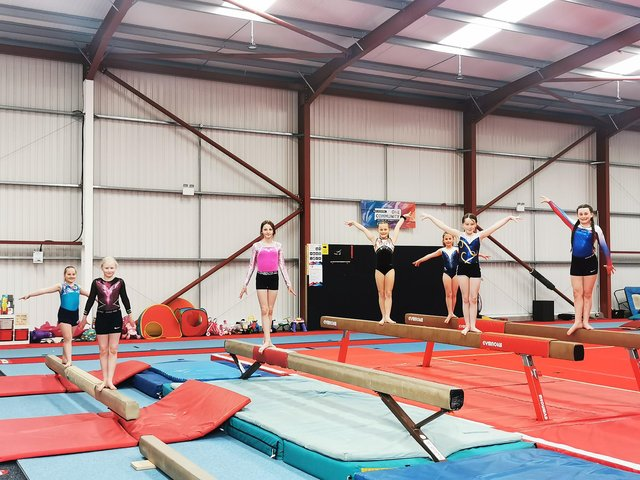 Sherwood Oaks Gymnastics Academy in Sutton has received a £1,000 donation from Persimmon Homes.