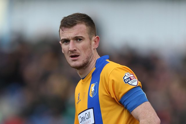 The late Lee Collins in his Mansfield Town days.