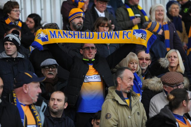 Loyal Mansfield Town fans to be rewarded with unique shirt offer after season-long lockout.