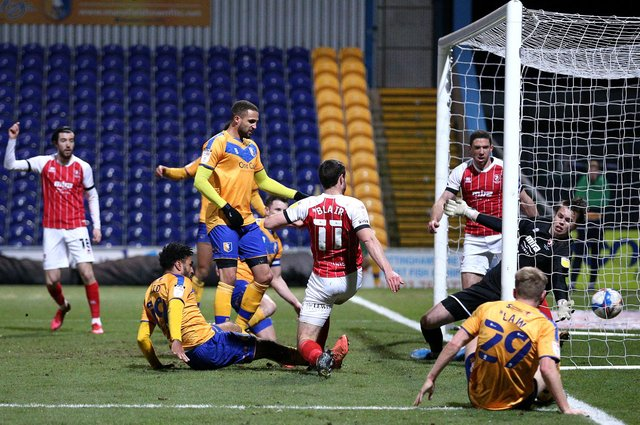 Mansfield Town - a season of disappointment but hopes of promoton push next time around.