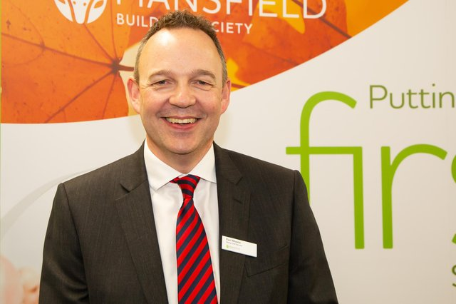 Paul Wheeler, chief executive at Mansfield Building Society.
