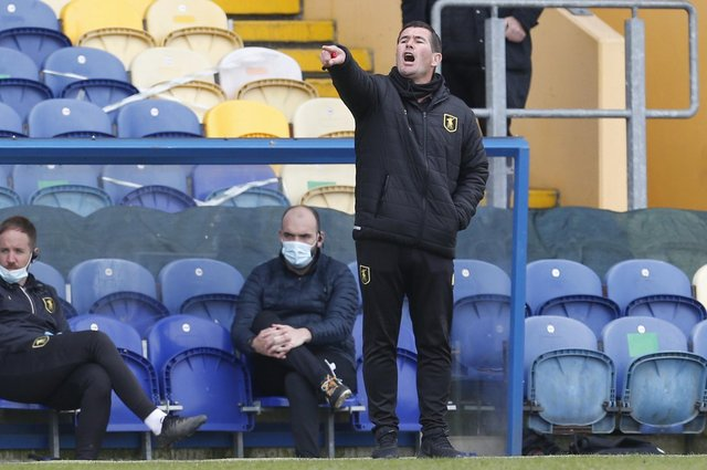 Mansfield Town Manager Nigel Clough