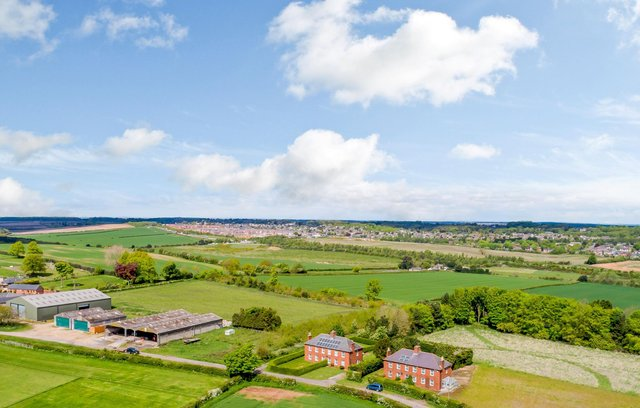 Lindhurst Farm is on the market for a cool £4m. Photo: Savills.