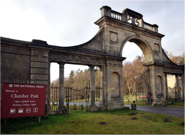 Clumber Park will be shut today and tomorrow.