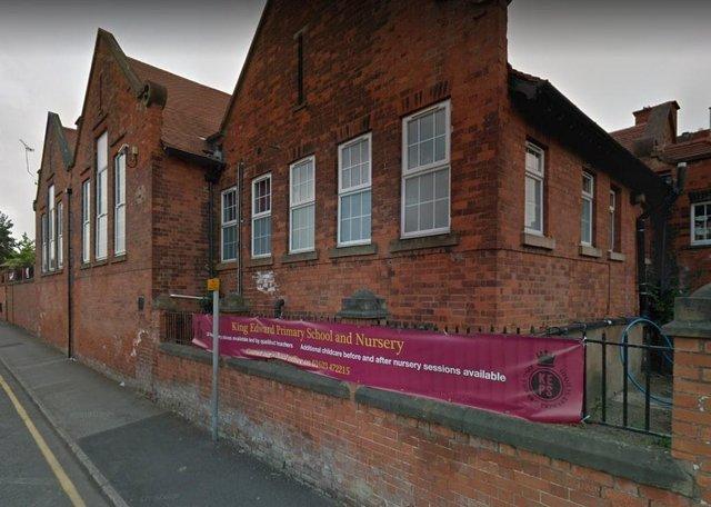King Edward Primary School in Mansfield.