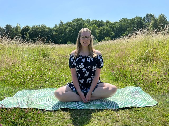 Millie Broome helping people find inner peace with guided meditation