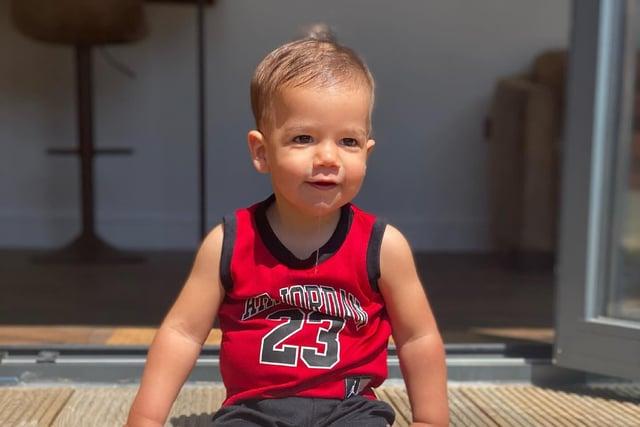 Rio is now doing well after undergoing open heart surgery as a newborn.