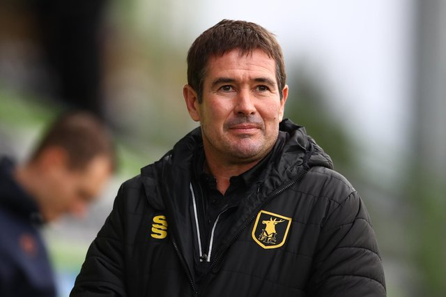 Nigel Clough. (Photo by Michael Steele/Getty Images)