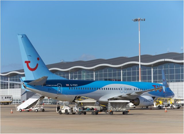 TUI is resuming flights from Doncaster Sheffield Airport.
