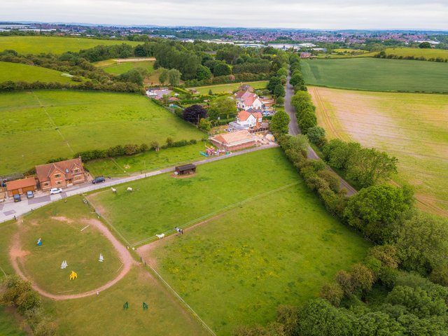 Luxury homes planned for livery stables site