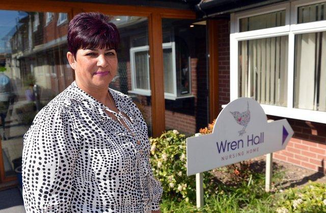 Anita Astle, who runs Wren Hall Nursing Home in Selston.
