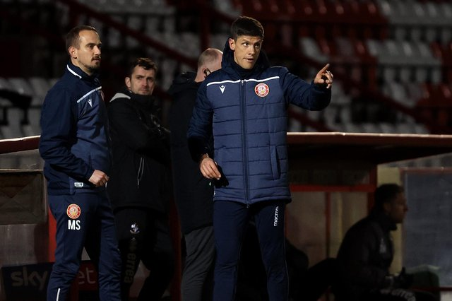 Stevenage FC manager Alex Revell