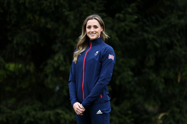 Molly Renshaw wants a podium place in Tokyo after being selected for the Great Britain swimming team. (Photo by Alex Pantling/Getty Images for British Olympic Association)