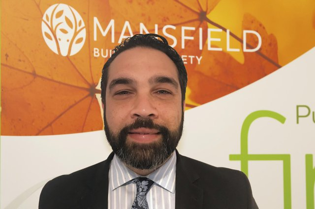 Mansfield Building Society's head of mortgage sales, Andy Alvarez.