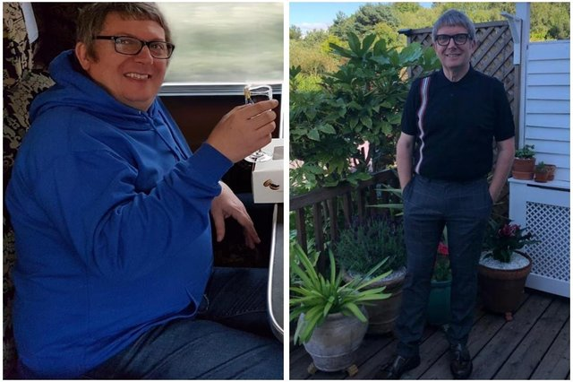 At his heaviest, Phil Ellis tipped the scale at more than 16 stone.