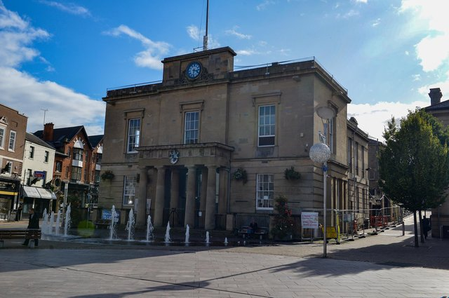 A drop-in sessions is being held outside the Old Town Hall