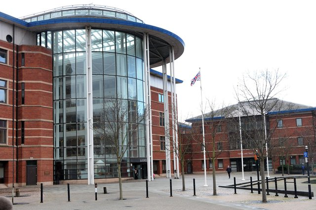 Nottingham Magistrates Court where Connor Lee Kelly was sentenced.