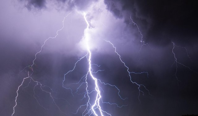 Thunderstorms are set to start in Mansfield at 3am and last until Saturday.    (Photo credit should read CHANDAN KHANNA/AFP via Getty Images)