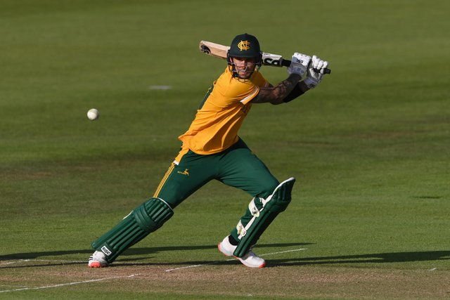 Alex Hales has signed a two year contract extension at Notts Outlaws. (Photo by Stu Forster/Getty Images)