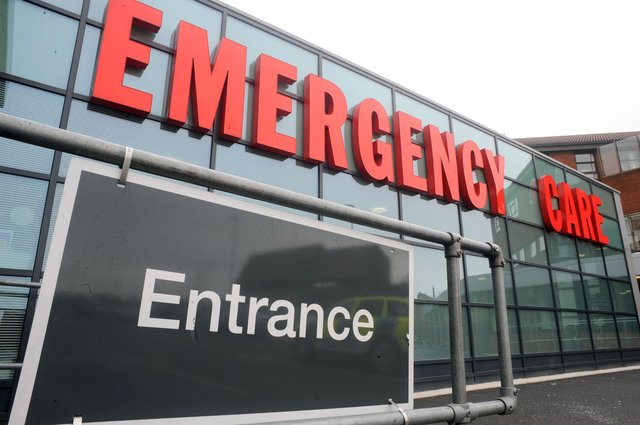 More patients visited A&E at Sherwood Forest Hospitals Trust last month –with demand rising above the levels seen over the same period last year.