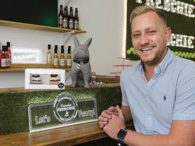 Frenchie Frenchie owner Arran Giles says the success of his business has been 'a whirlwind'