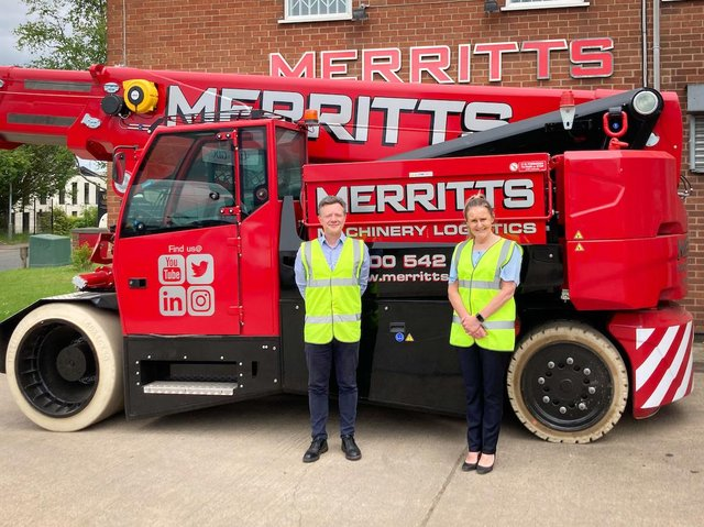 Andy Booth and Paula Law have joined Merritts in Kirkby,