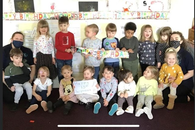 Cherubs Wynndale celebrated its 15th birthday this month