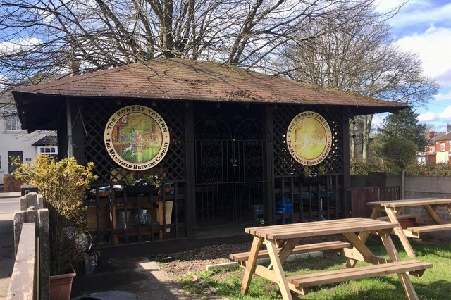The pub have completely renovated their outside space