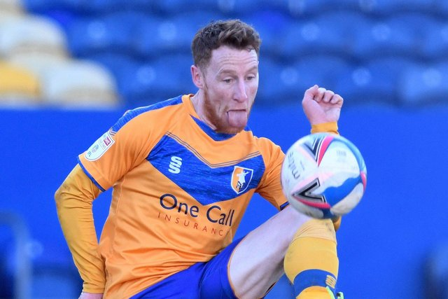 Stephen Quinn went close for the Stags. Picture: Andrew Roe/AHPIX LTD
