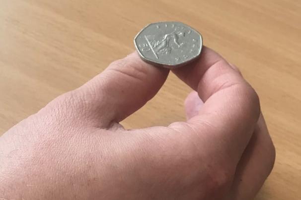 A souvenir coin was among the items stolen