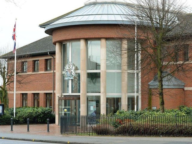 Mansfield Magistrates Court, where Mark Kilday was sentenced.